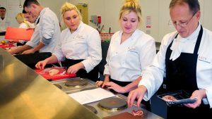 Chef training at Riverbank